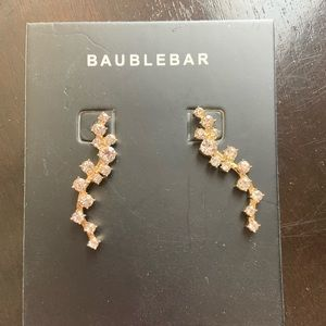 BaubleBar earrings (New, never worn)